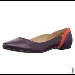 ♓️🅿️Callisto Purple Fordye Ballet Flats size 8.5